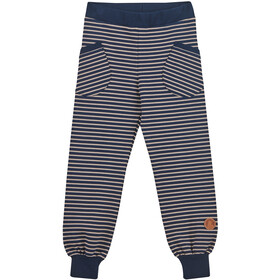 Finkid Huvi Leggings Kinderen, navy/pebble